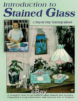 Stained Glass School Starter Kit Set GRINDER Tools SOLDERING IRON Instruction