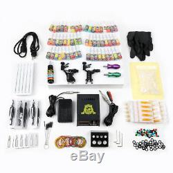 Starter Beginner Complete Tattoo Kit Professional Rotary Machine Gun set TK255
