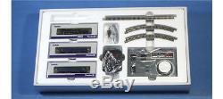 Tenshodo 80012 Premium Z Starter Set Locomotive C62 2 + 2 Cars Z
