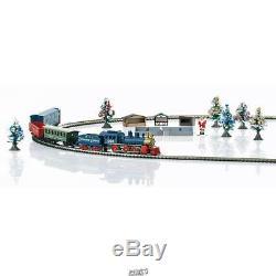 The Marklin locomotive 81846 Z Scale Christmas Freight Train Set