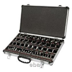 Trend SET/SS50X1/4TC 50 Piece 1/4 Shank Router Cutter Set