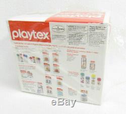 Vtg Playtex Baby Nurser Bottles Starter Set Plastic Bags