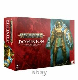 WARHAMMER AGE Of SIGMAR DOMINION BRAND NEW AND SEALED