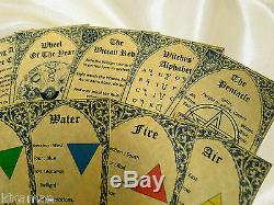 WICCAN ALTAR KIT chest beginners witches starter set mini small travel wicca