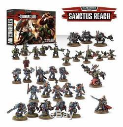 Warhammer 40k Games Workshop Sanctus Reach Stormclaw Starter Box Set New Sealed