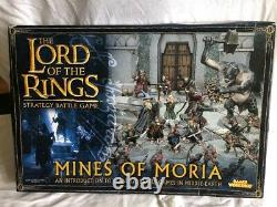 Warhammer LOTR Mines of Moria strategy battle game starter set New in Box