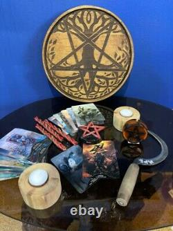 Witch starter kit, Wiccan altar for beginners, Witchcraft kit, witchcraft set