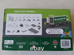 Woolworths Bricks Set Deluxe Starter Pack, 2 Trucks and Figurine Pack, Lego