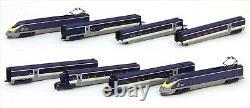 10-1297 Eurostar New Color 8 Voitures Basic Set Kato Railway Model N Scale Tgv