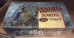 1999 Magic The Gathering Starter Set 36-count Scellé Booster Mtg Grim Tutor