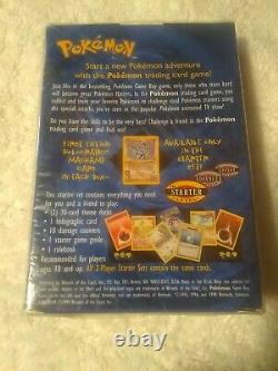 1999 Wotc Pokemon 2- Player Starter Set New & Sealed Package Rare Nip