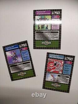 2 X Ensembles De Booster Digimon Anglais (24), Carte À Échanger, Série 1, 1999, Animé