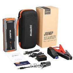 20000mah Voiture 12v Jump Starter Booster Jumper Box Power Bank Chargeur De Batterie + Led