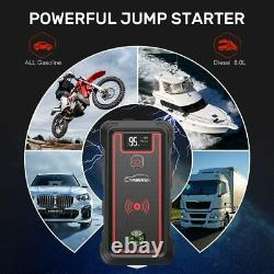 2500a Heavy Duty Truck Battery Booster Pack Jump Starter Amps Voiture
