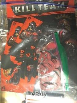 40k 1er Ed Kills Équipe Starter Set Utilisé Poo Warhammer Skitari Promo Terrain Rare