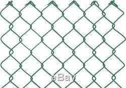 50m Komplett Set Basic 60x2,8x1000 Maschendrahtzaun Grün Starterset Zaunset