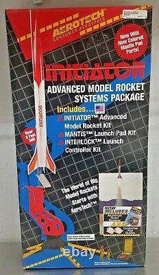 Aerotech Initiateur Advanced Model Rocket Systems Package Starter Set 89001 Nouveau