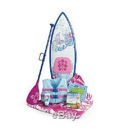 American Girl Doll Kanani's Collection Starter Set Paddleboard Accessoires Pour Chien