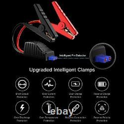Audew 2000a Voiture Jump Starter Booster Booster Jumper Power Bank Chargeur De Batterie