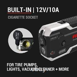 Autogen 4000a Booster De Batterie De Camion Lourd Pack Jump Starter Box Portable