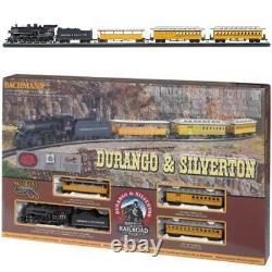 Bachmann 00710 Durango & Silverton Electric Train Set Avec E-z Track Ho Scale