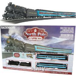 Bachmann 00751 North Pole Express Electric Train Set Avec E-z Track Ho Scale