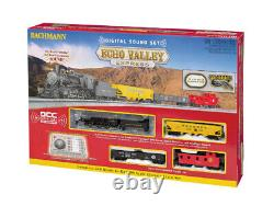 Bachmann 00825 Ho Scale Echo Valley Ready To Run DCC Electric Train Set With DCC