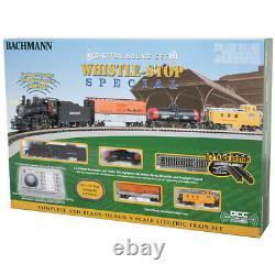 Bachmann 24133 Ensemble De Trains Spéciaux Whistle-stop Avec Échelle Numérique De Son N