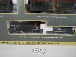 Bachmann 30 White Pass & Yukon Ensemble De Train Withtrack