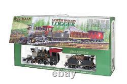 Bachmann 90122 North Woods Logger Ensemble De Train À Grande Échelle