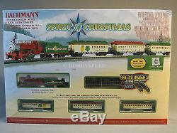 Bachmann N Esprit Echelle De Noël Passagers Train Set N Jauge Santa 24017 Nouveau