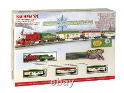 Bachmann N Gauge Spirit Of Christmas Steam Train Set 24017 Nib Nouveau