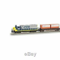 Bachmann Trains N Freightmaster Échelle Prêt-à-run 60 Pièces Ensemble De Train 24022-bt