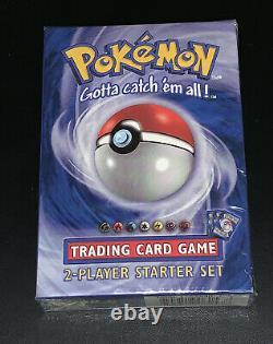 Base De Pokemon Set 2 Joueurs Starter Set Deck À Thème Scellé En Usine 1999 Wotc