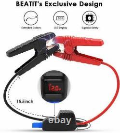 Beatit G18 2000 Portable De Pointe 21000mah Voiture 12v Lithium Jump Starter + Eva Case