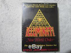 Box Large Limitée Starter Set Illuminati Inwo Jeu De Cartes Rarissime Etanche