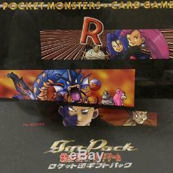 Carte Pokemon Équipe Rocket Quick Starter Pack De Cadeau Box Set 1997