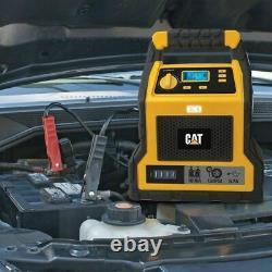 Compresseur De Chargeur De Batterie Pour Démarreur De Saut Professionnel De Voiture Cat - 1000 Ampli De Pointe