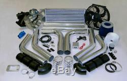 Custom Race T3t4 T3 T4 Turbocharger Turbo Boost Kit 485hp Set Starter Z Système