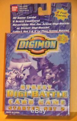 Digimon Digi-card Battle Rue Jeu Starter Set # 2 Nouveau