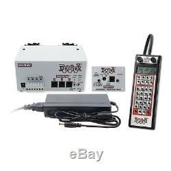 Digitrax Evolution Duplex Starter Set DCC Sans Fil Radio Dt500d Evod 5-8 Amp Nouveau