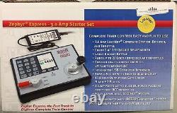 Digitrax Zephyr Express DCC Starter Command Station Booster Throttle Set Dcs52