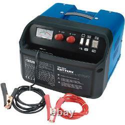 Draper 120a Amp 12v 24v Car Van Battery Charger Starter Booster 400ah 25354