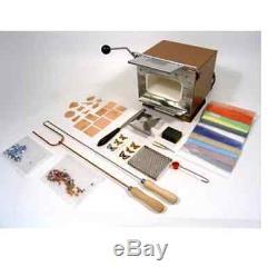 Émaillage Starter Kit Set & Uhlig U5 Électrique Kiln Émail Émailleurs Verre -te1