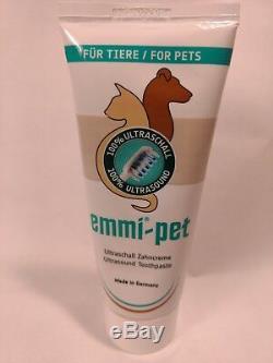 Emmi-pet Avec 100% Ultrason Starter Set Dents Et Gommes Plus Sain Pour Votre Animal De Compagnie
