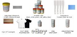 Ensemble Complet Impression Couleur Soie 6-6 Écran De Presse 6 Station Starter Kit D'impression Us