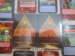 Ensemble De Démarrage Illimité De 1995 Jeu De Cartes Illuminati Inwo Scellé Nuke Épidémie