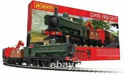 Ensemble De Train De Fret En Hornby R1254 Gwr Ensemble De Train De Démarrage Complet