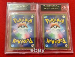 Ensemble Pokemon Card Starter Deck Charizard Vmax & Charizard V Bgs Black Label