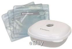 Foodsaver Fm5440 2-en-1 Conservation À Vide Scellant Set Package + Starter Kit